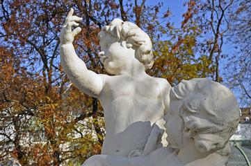 Steinfiguren, Kinder