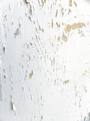 Flaking paint