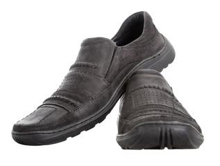 Men's walking shoes nubuck