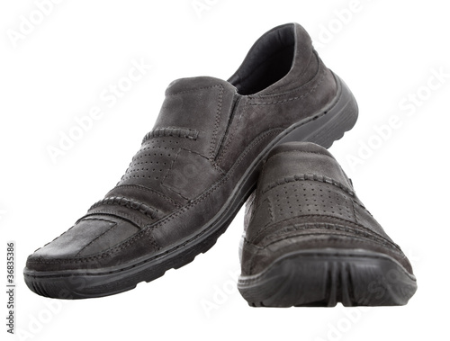 Men's walking shoes nubuck