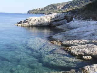 Mediterranean sea. Coast