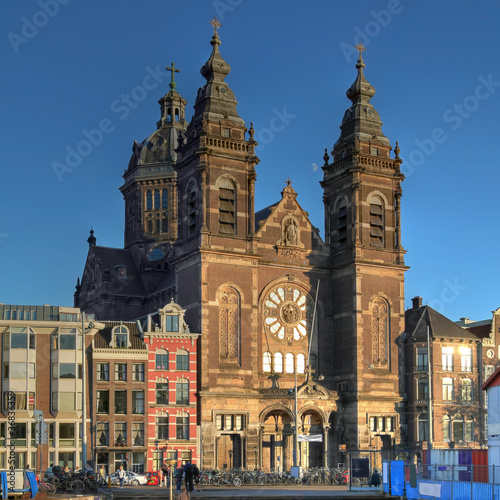 Saint Nicholas church in Amsterdam, The Netherlands