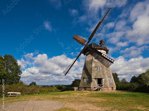 Windmühle in Benz auf Usedom. - 36836787