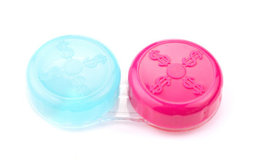 Container for contact lenses
