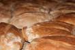 Pan tostado en horno de leña