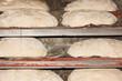 Masas de pan crudo, listo para hornear