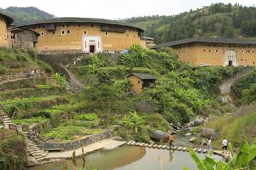 Village et maisons Hakka