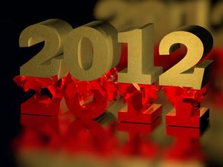 Jahreswechsel - 2011-2012 - 3D