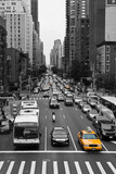 Fototapety New York Traffic