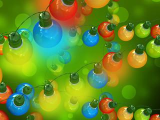 Holiday light bulbs