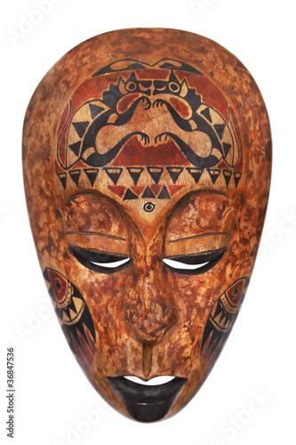 Fotobehang Tunesië African mask