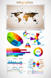 Premium infographics master collection: poster