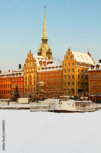 Old Town in winter.