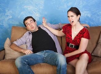 Woman Slaps Man