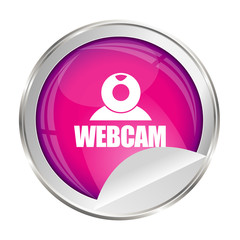 bouton rose webcam