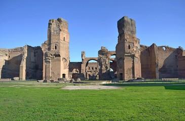 Terme di Caracalla - Corpo centrale