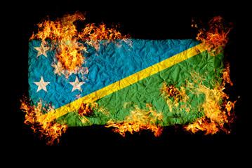 Flag of Solomon Islands