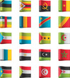 Vector flags. Africa, part 10