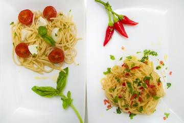 Spaghetti pomodoro e peperoncino