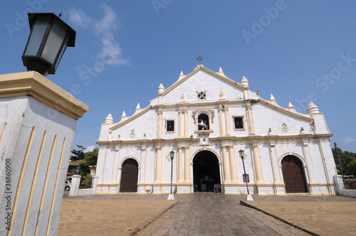 Church from 17th century in Philippines