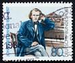 Postage stamp Germany 1983 Johannes Brahms