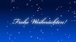 Frohe Weihnachten Schnee Merry Christmas Snow