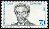 Postage stamp Germany 1975 Dr. Albert Schweitzer