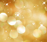Fototapety Christmas Glittering background. Holiday Gold abstract texture