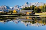 Fototapety Bergsee im Herbst