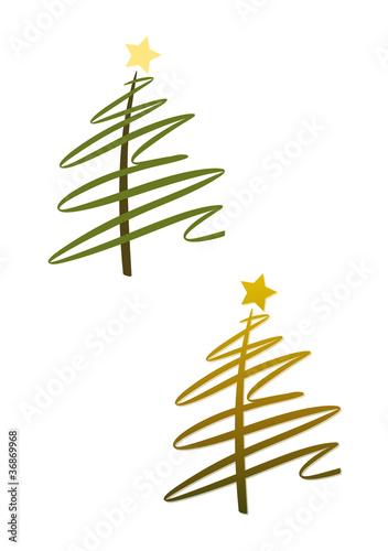 gamesageddon moderner abstrakter weihnachtsbaum in gr n und gold lizenzfreie fotos vektoren. Black Bedroom Furniture Sets. Home Design Ideas