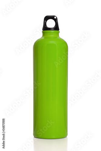 Green reusable water bottle - 36870188