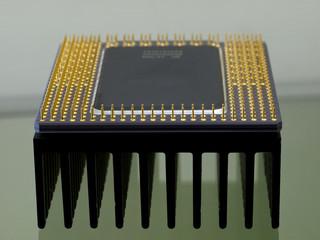 CPU and heatsink on 18 years ago, Since 1993