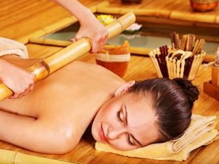 Bamboo massage.