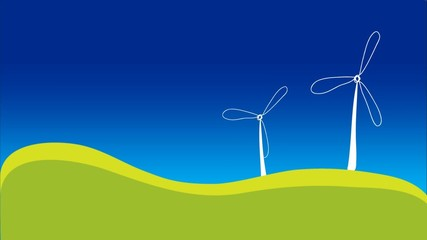 Green Eco Energy Power renewable concept