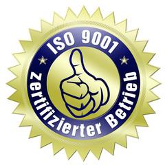 iso 9001 zertifiziert zertifikat zertifizierter betrieb edel