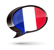 """French-Speaking"" 3D Speech Bubble"