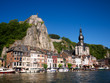 Collegiate Church of Notre Dame and Citadel in Dinant Belgium