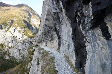 Chemin de la Mâture en vallée d'Aspe