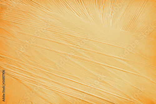 Orange background from a packing material