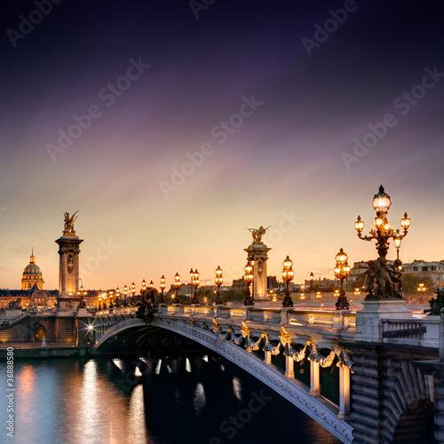 Pont Alexandre III, Paryż