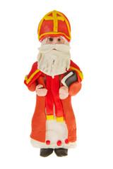 Sinterklaas from clay