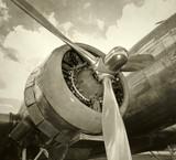Fototapete Flieger - Luftfahrt - Flugzeug