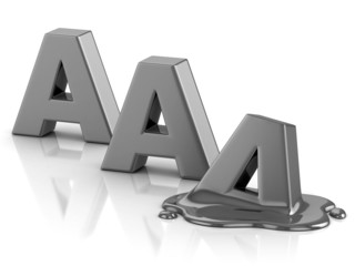 AAA credit rating downgrade