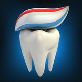 zubní péče - zubní pastu na zuby