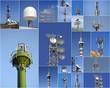 Collage di antenne