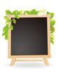黒板 フレーム 葉