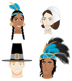 Indians and Pilgrims