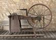 historic grinding wheel