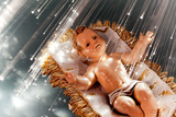 Fototapeta jezus - Boże Narodzenie - Ozdoba