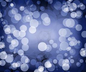 cercles sur fond bleu